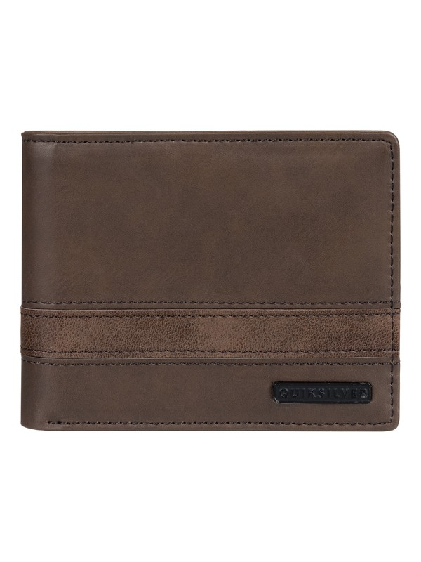 0 SUPPLY SLIM TRIFOLD II Marrón EQYAA03870 Quiksilver