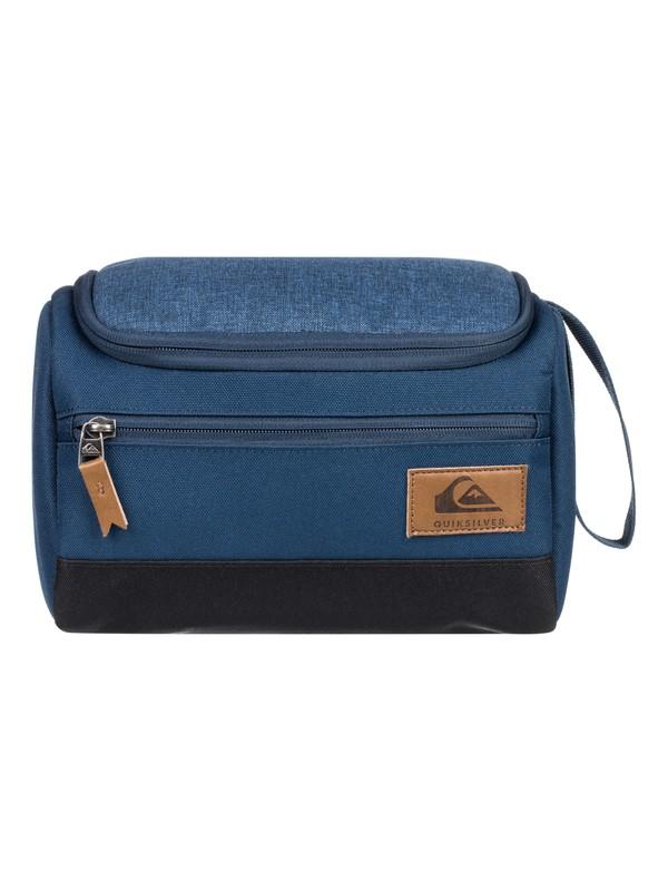0 Capsule - Travel Wash Bag Blue EQYBL03165 Quiksilver