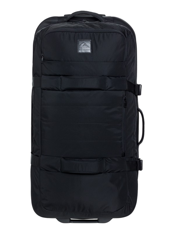 0 New Reach 100L - Large Wheeled Suitcase Black EQYBL03169 Quiksilver
