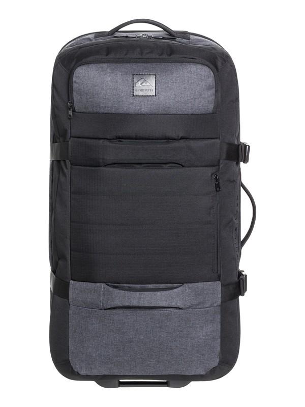 0 New Reach 100L Large Wheeled Suitcase Black EQYBL03169 Quiksilver