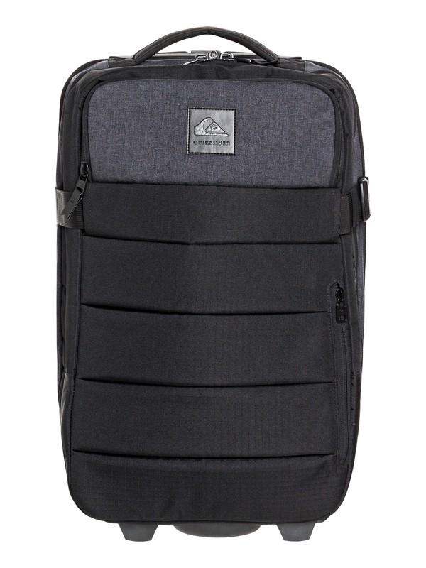 0 New Horizon 32L Wheeled Cabin Suitcase Black EQYBL03170 Quiksilver