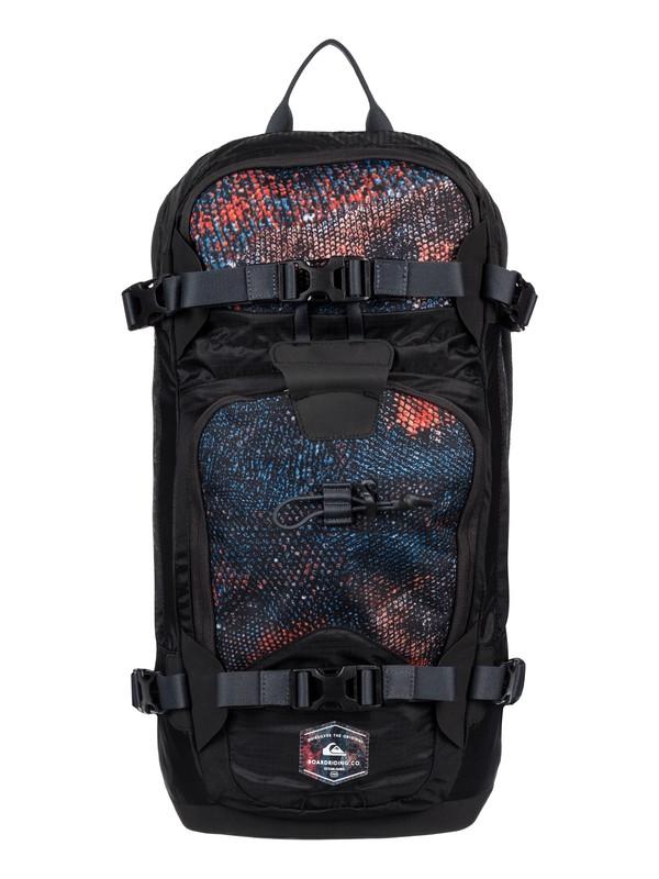 0 TR Platinum Medium Snow Backpack Black EQYBP03393 Quiksilver