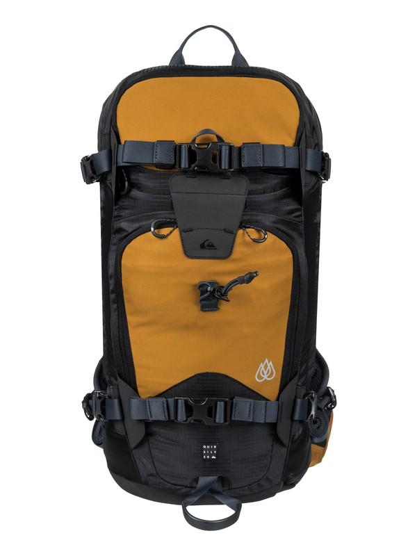0 Travis Platinum 24L Medium Snowboard Backpack Brown EQYBP03474 Quiksilver