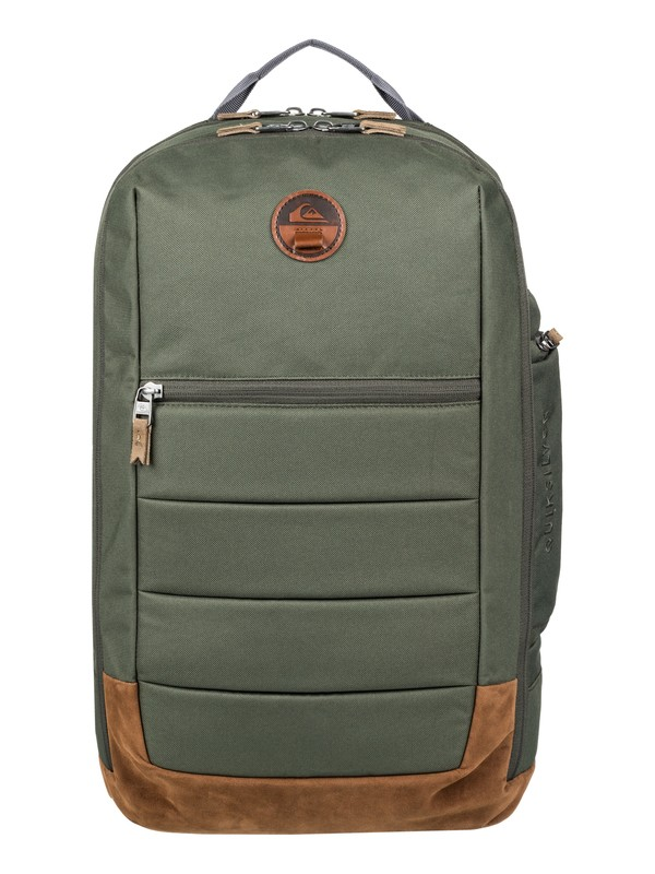 0 Upshot Plus 25L Medium Backpack Brown EQYBP03490 Quiksilver