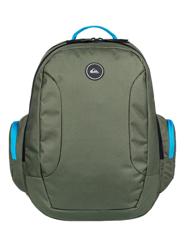 0 Schoolie 30L Large Backpack Blue EQYBP03498 Quiksilver