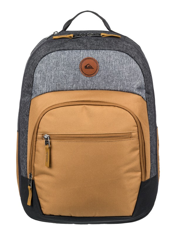 0 Schoolie Cooler 25L Medium Backpack Brown EQYBP03499 Quiksilver