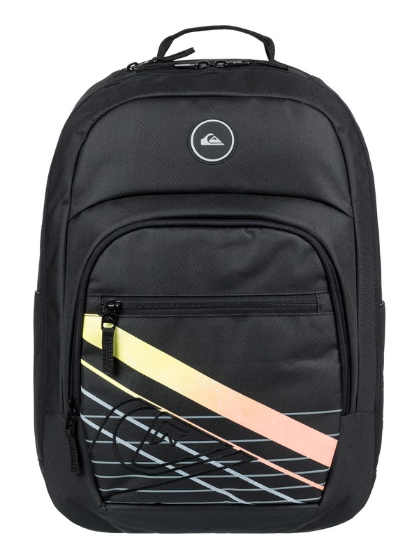 0 Schoolie Cooler 25L Medium Backpack Black EQYBP03499 Quiksilver
