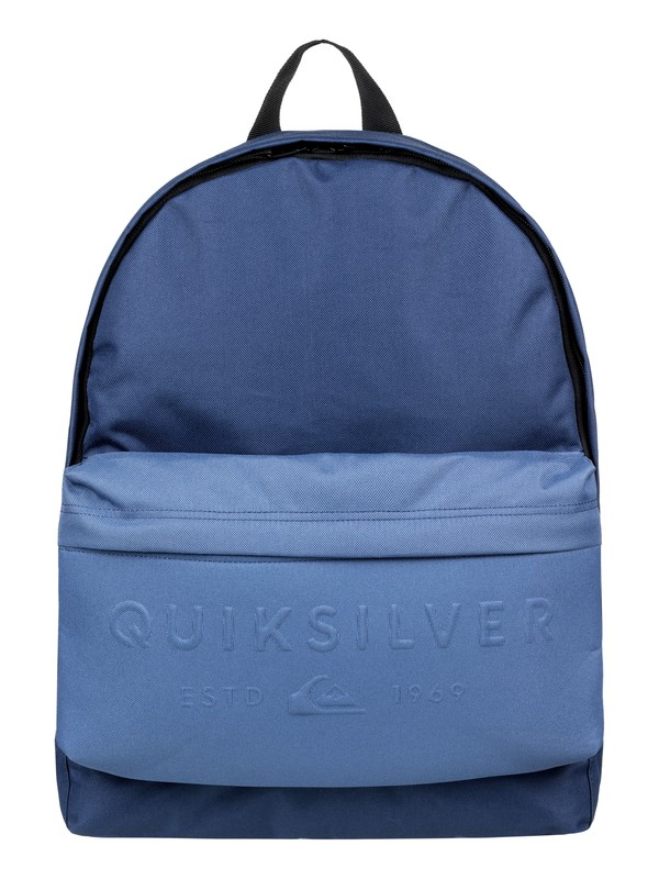 0 Everyday Poster Embossed 25L - Mochila mediana Azul EQYBP03501 Quiksilver