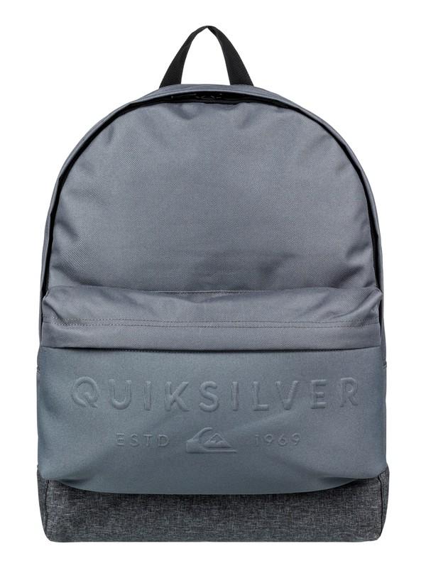 0 Рюкзак среднего размера Everyday Poster Embossed 25L Черный EQYBP03501 Quiksilver