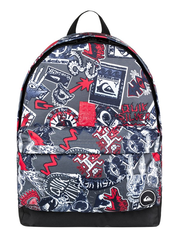 0 Everyday Poster 25L - Medium Backpack Black EQYBP03504 Quiksilver