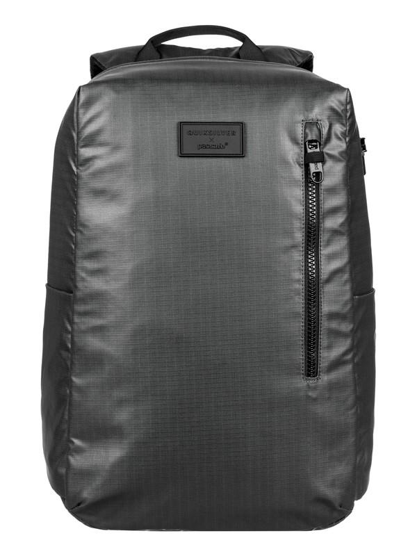 0 Pacsafe X Quiksilver 25L Anti-Theft Medium Backpack Black EQYBP03507 Quiksilver