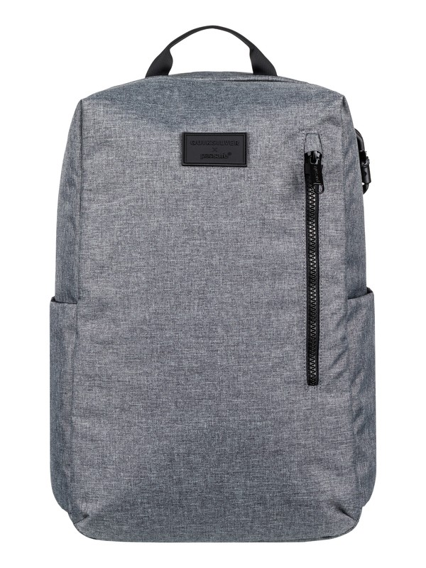 0 Pacsafe X Quiksilver 25L Anti-Theft Medium Backpack Grey EQYBP03507 Quiksilver