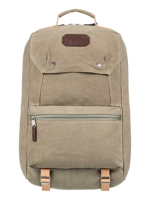 0 Premium 28L Large Canvas Backpack Brown EQYBP03527 Quiksilver