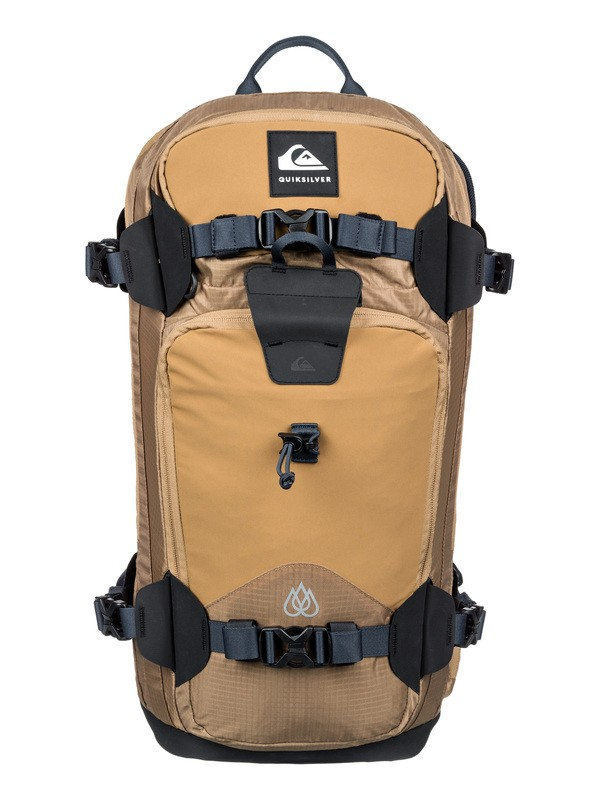 0 Travis Rice Platinum 24L Medium Snow Backpack Brown EQYBP03531 Quiksilver