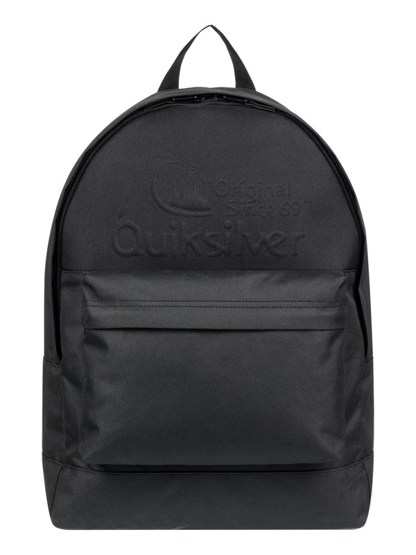 0 Everyday Poster Embossed 25L - Medium Backpack Black EQYBP03558 Quiksilver