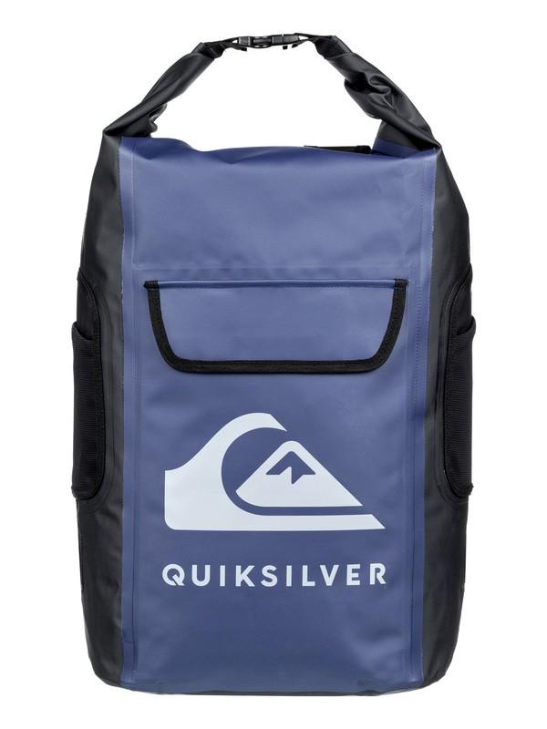 0 Sea Stash 35L - Medium Roll-Top Wet/Dry Surf Backpack Blue EQYBP03562 Quiksilver