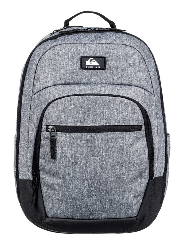 0 Schoolie Cooler 25L Medium Backpack Grey EQYBP03567 Quiksilver