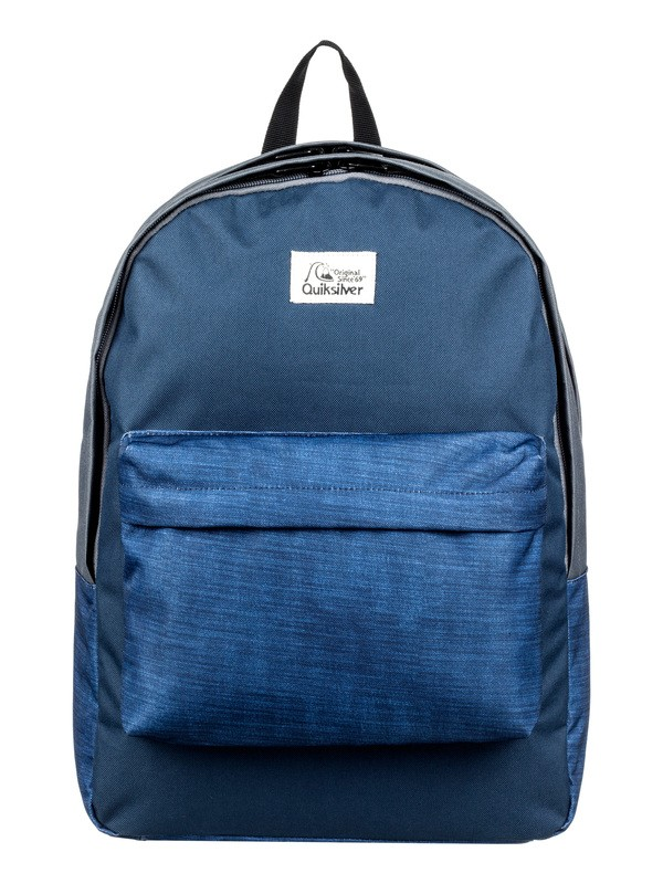 0 Everyday Poster Double 30L Large Backpack Blue EQYBP03570 Quiksilver