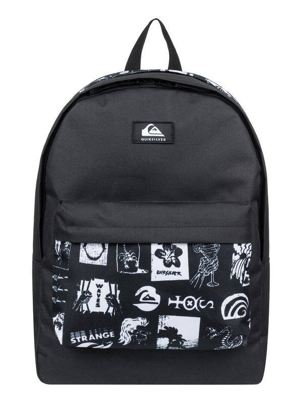 0 Everyday Poster Double 30L Large Backpack White EQYBP03570 Quiksilver