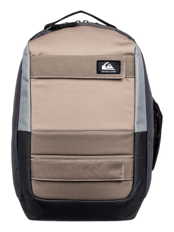 0 Skate Pack 24L - Medium Skate Backpack Grey EQYBP03571 Quiksilver