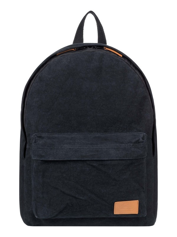 0 Everyday Poster Canvas 25L Medium Backpack Black EQYBP03578 Quiksilver
