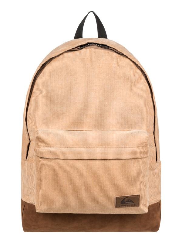 0 Everyday Poster Plus Cord 25L Medium Corduroy Backpack Brown EQYBP03580 Quiksilver