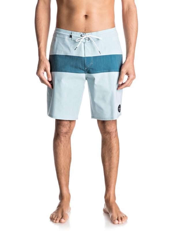 """0 Shorts de Playa Panel  Blocked de 19""""  EQYBS03694 Quiksilver"""