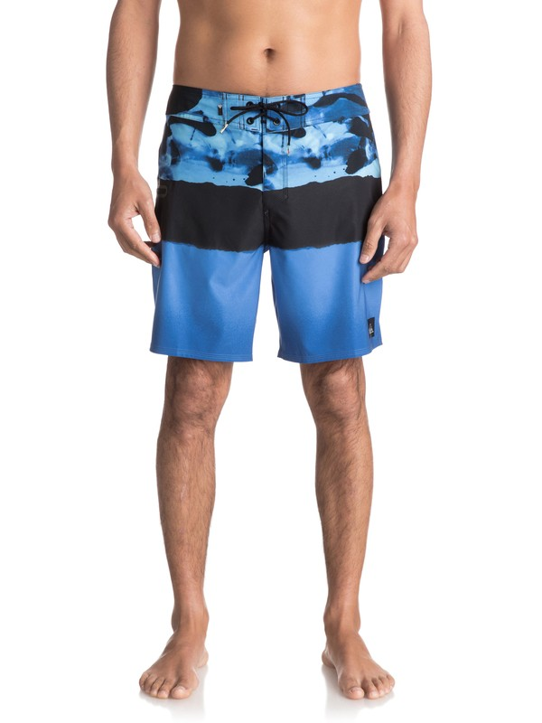 "0 Blocked Resin Camo 18"" - Board Shorts para Hombre Azul EQYBS03741 Quiksilver"