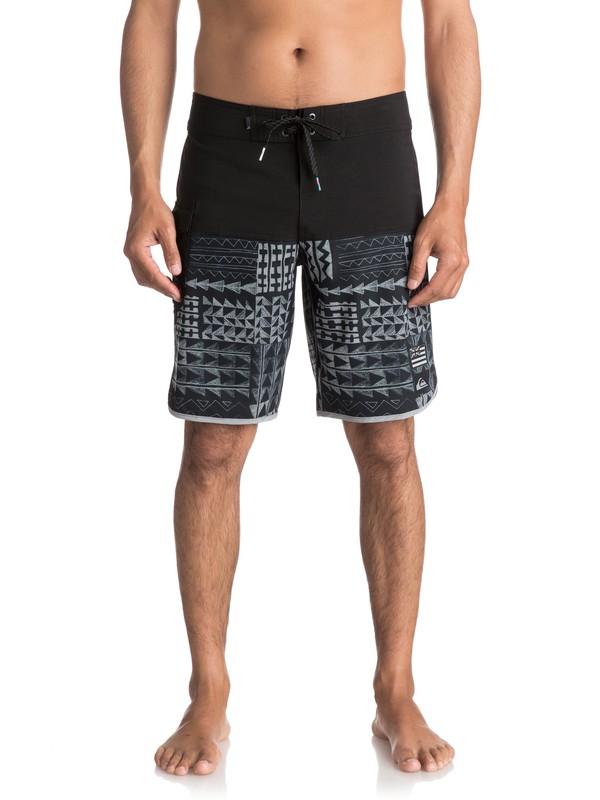 "0 Hombres Boardshorts de 20""  The Scallop Hawaii  EQYBS03818 Quiksilver"