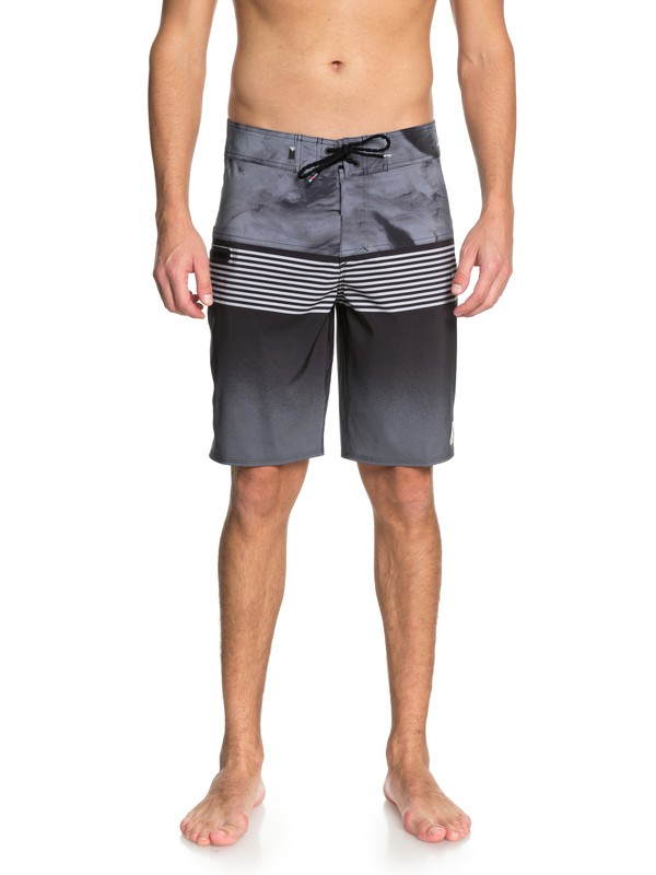 "0 Highline Lava Division 20"" Boardshorts Black EQYBS03846 Quiksilver"