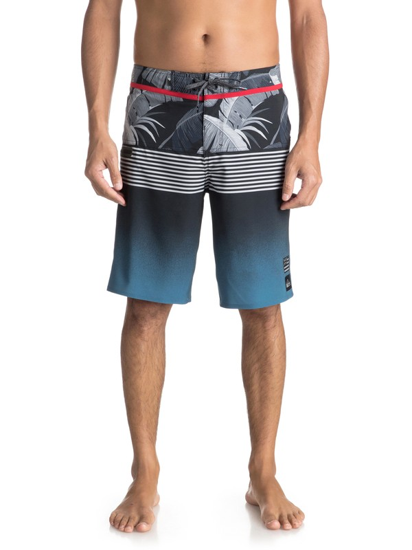 """0 Highline Division Hawaii 21"""" Boardshorts Blue EQYBS03853 Quiksilver"""