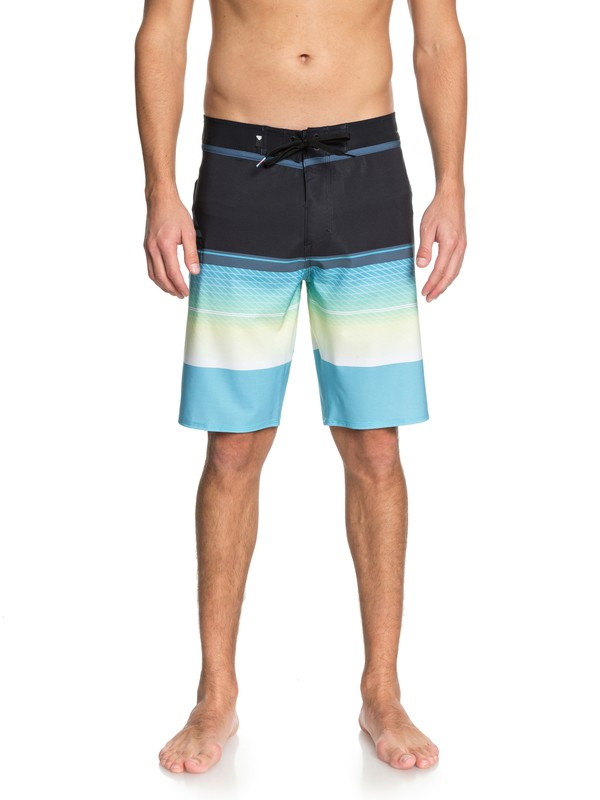 "0 Highline Slab 20"" Boardshorts Blue EQYBS03858 Quiksilver"