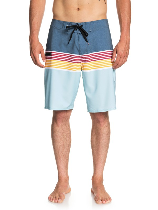 """0 Highline Division 20"""" Boardshorts Blue EQYBS03893 Quiksilver"""