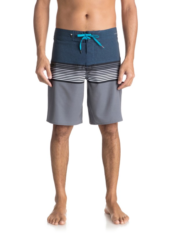 "0 Boardshorts Highline Division 20"" Azul EQYBS03893 Quiksilver"