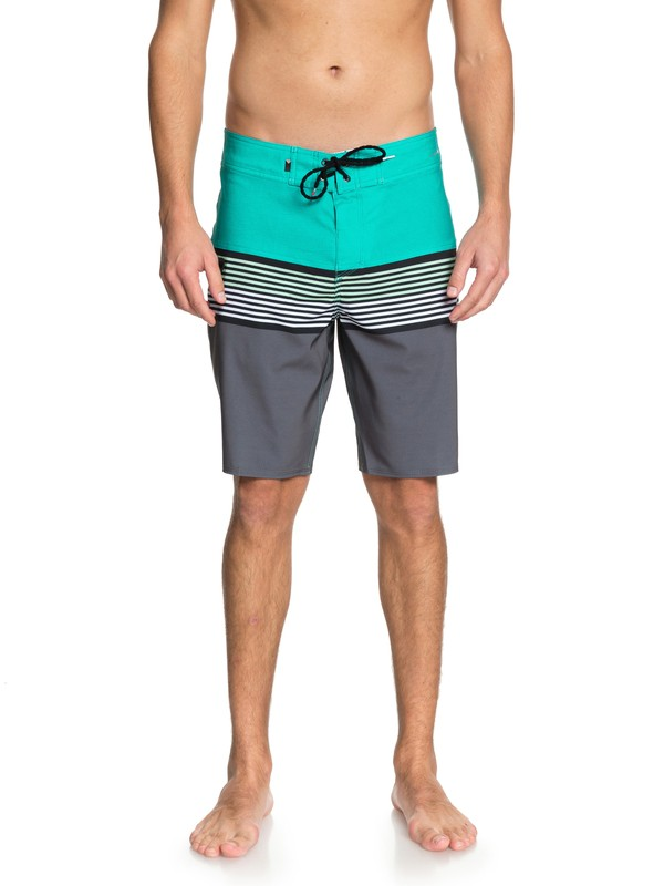 "0 Boardshorts Highline Division 20"" Verde EQYBS03893 Quiksilver"