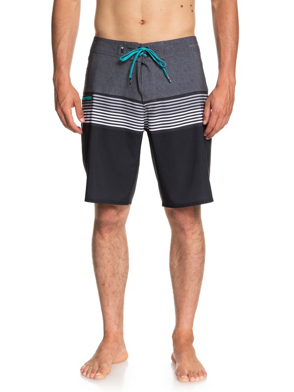 "0 Highline Division 20"" Boardshorts Black EQYBS03893 Quiksilver"