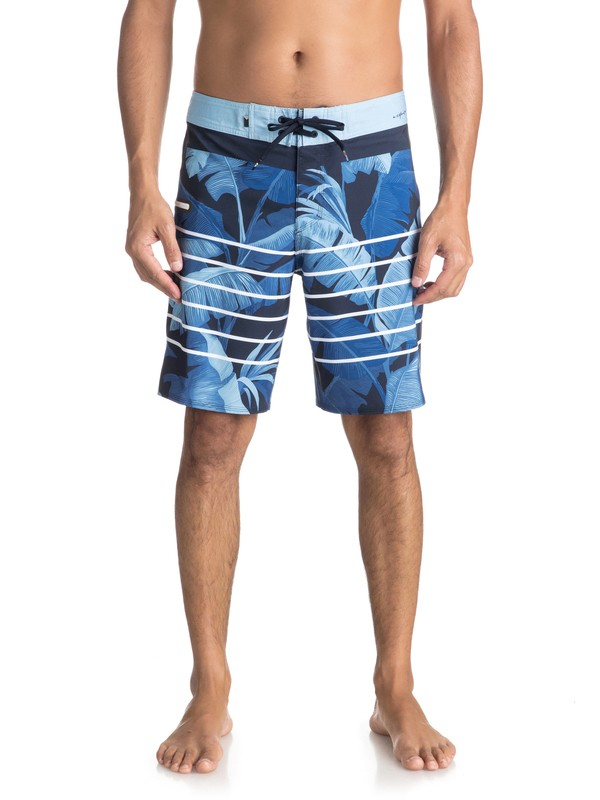 "0 Highline Island Time 19"" - Boardshort Blue EQYBS03897 Quiksilver"