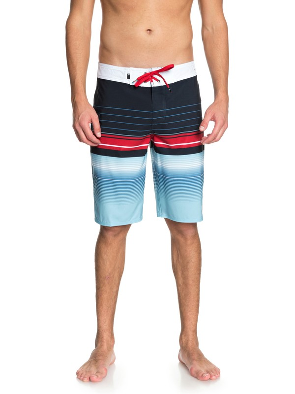 "0 Highlinesion 21"" Boardshorts Blue EQYBS03898 Quiksilver"
