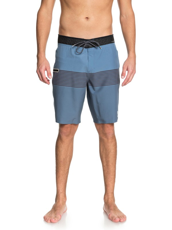 "0 Highline Division Blend 20"" Boardshorts Blue EQYBS03920 Quiksilver"