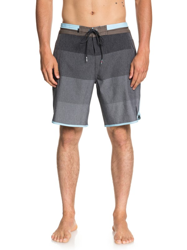 "0 Vista 19"" Beach Shorts Grey EQYBS03964 Quiksilver"