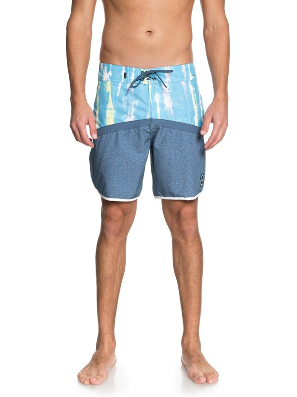 """0 Highline Fortune 18"""" Boardshorts Blue EQYBS03977 Quiksilver"""