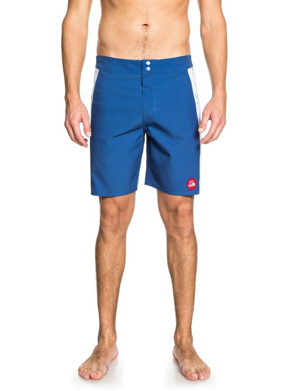 "0 STAB Highdye 18"" - Board Shorts for Men Blue EQYBS03994 Quiksilver"