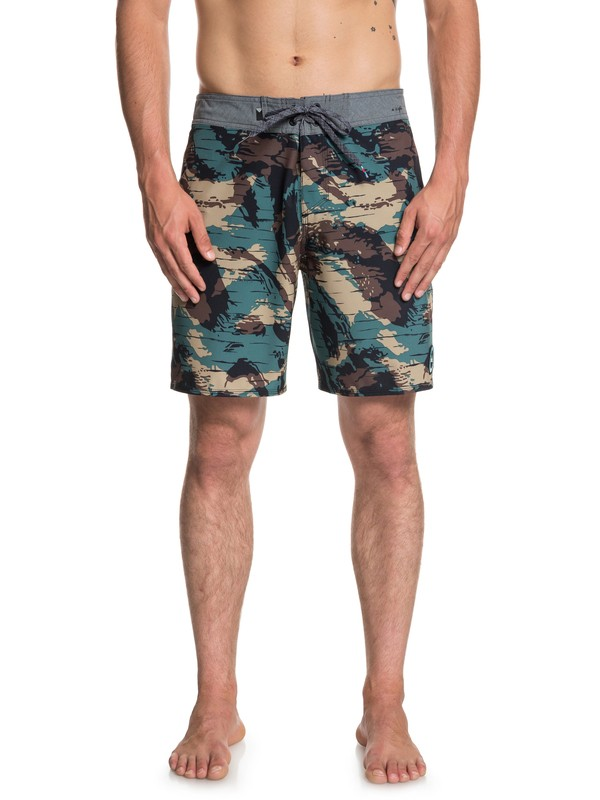 "0 Highline Variable 18"" - Boardshorts para Hombre Verde EQYBS03996 Quiksilver"