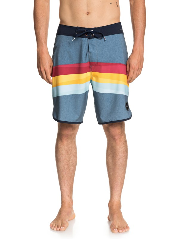"0 Highline Reverse 19"" Boardshorts Blue EQYBS04003 Quiksilver"
