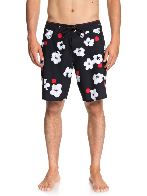 "0 Highline Cherry Pop 19"" - Board Shorts for Men Black EQYBS04005 Quiksilver"