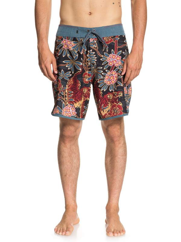"0 Highline Silent Fury 18"" - Board Shorts for Men Blue EQYBS04007 Quiksilver"