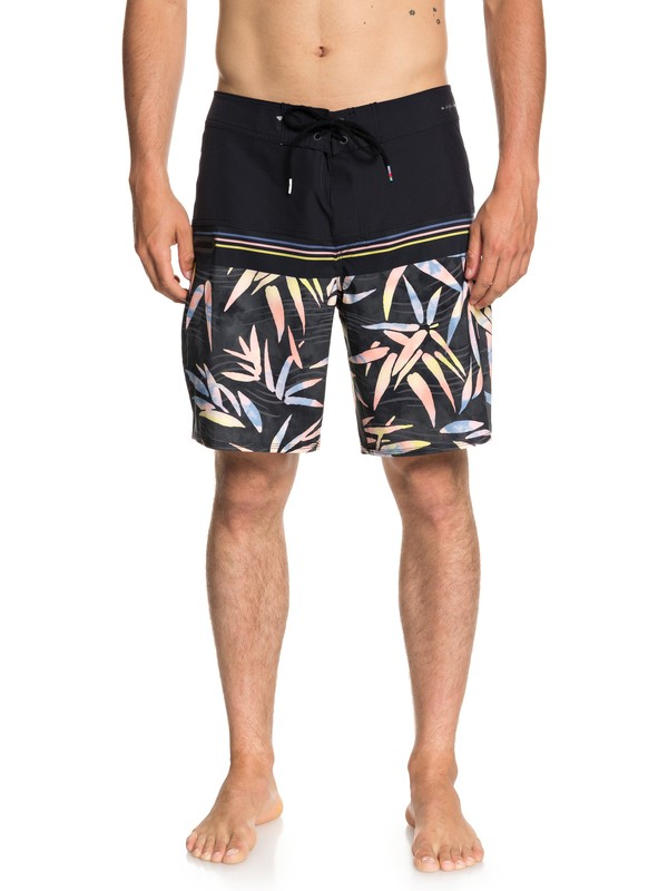 "0 Highline Zen Division 19"" - Board Shorts for Men Black EQYBS04010 Quiksilver"