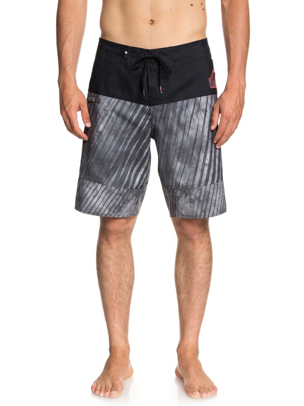 "0 Fluid Force 20"" - Board Shorts for Men Black EQYBS04020 Quiksilver"