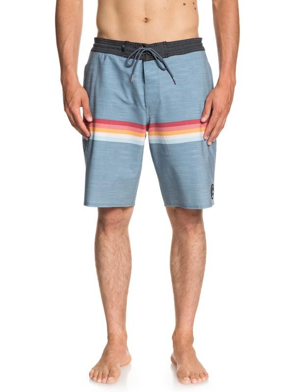 """0 Seasons 20"""" Beach Shorts Blue EQYBS04021 Quiksilver"""
