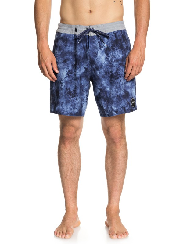 "0 Baja Acid 18"" Beach Shorts Blue EQYBS04023 Quiksilver"